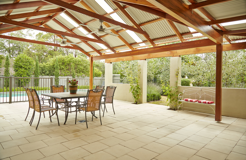 how to build a roof over a patio